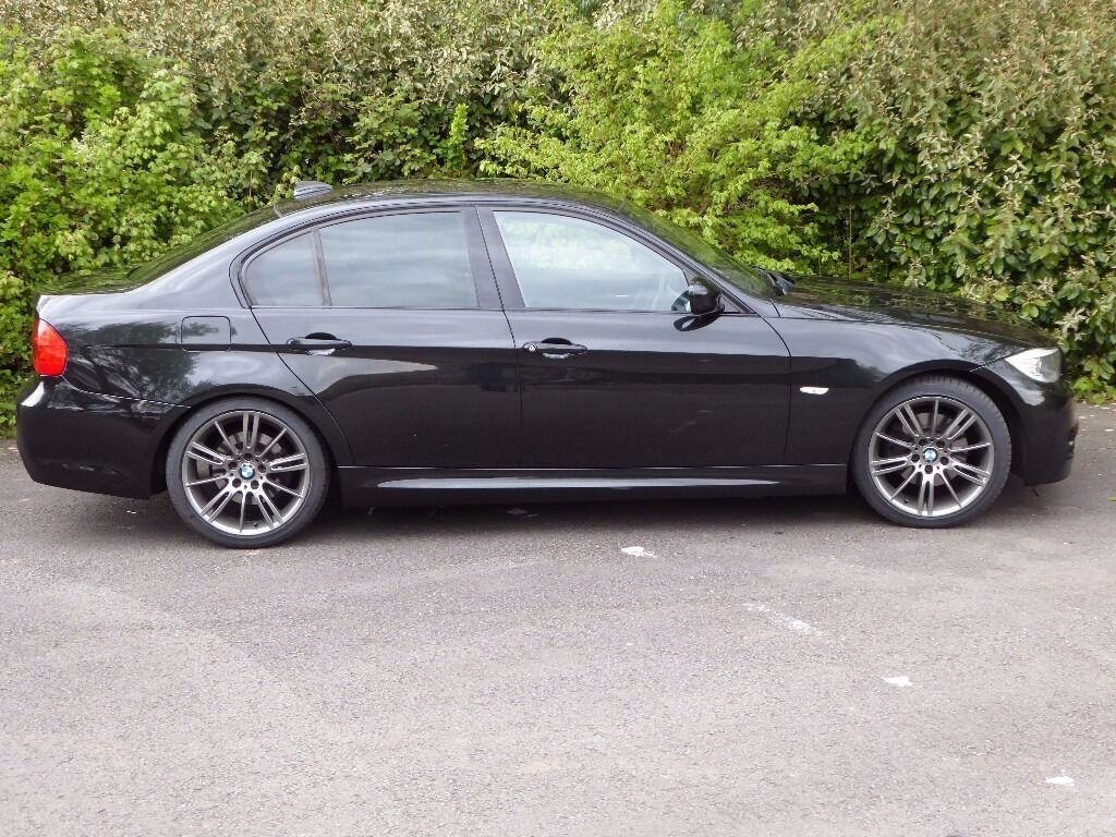bmw 320d m sport plus edition with idrive, widescreen sat nav