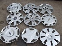 FORD MONDEO FIESTA KA FOCUS WHEEL TRIMS USED ( FROM £3 EACH ASK )