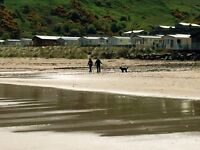 Caravan in Scotland for sale. No site fees until 2018 season. On the beach in Berwickshire.