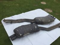 FOR SALE.TWO BMW EXHAUSTS.