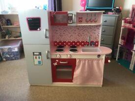Childrens play kitchen (Plum Terrace kitchen)