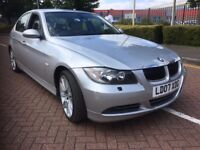 2007 BMW 330D m sport SILVER PETROL MOT TILL NOV '18-open to offers