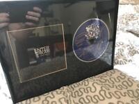 Signed Enter Shikari album - the mindsweep