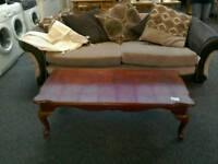 Coffee table with Queen Anne legs #30464 £15