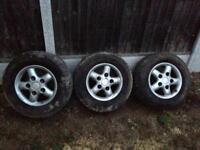 Landrover wheels&tyers
