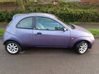 FORD KA 1.3 ZETEC CLIMATE - FULL LEATHER - ONLY 69K MILES & 2 FORMER LADY OWNERS