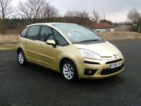 C4 PICASSO 1.6HDI VTR+ 12 MONTHS M.O.T 6 MONTHS WARRANTY (FINANCE AVAILABLE)