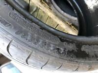 295 35 R20 Michelin tyres good thread