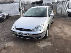 2003 FORD FOCUS 1.6 LX MOT AUG 2017 NEW CAMBELT AND SERVICE PX WELCOME MIN £95
