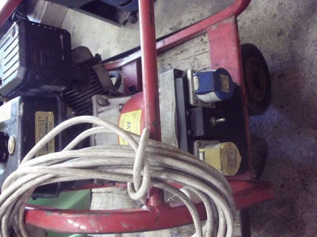 Generator Briggs Stratton 55 Hp 110 240 Volt 27 Kw In Woodhall And Electrical Wiring