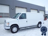 2014 Ford E-250 Cargo Van - 4.6L V8 - 26,812 KMs - Steel Wheels