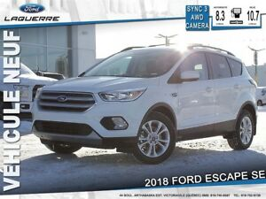 2018 Ford Escape SE*96$/Semaine 0$ CASH!!* LF