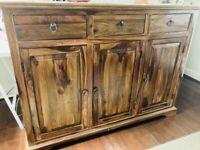 ***Solid Sheesham Indian Rosewood Dresser/TV Bench (Bundle offer)***