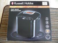 RUSSELL HOBBS FAST BAKE BREADMAKER BOXED