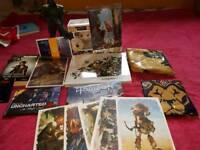 Video Game Merch, Overwatch, Zelda, Witcher 3, Uncharted, Funko Pop Vinyl, PlayStation, Nintendo