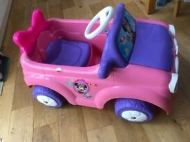 Minnie Mouse Electronic Car