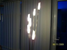6 light floor lamp
