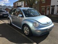 Volkswagen Beetle metallic blue
