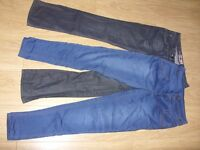 2 x Pairs of Super Skinny Ladies Jeans / Denims Bundle - Size 12 - Great Condition - £6 for the Lot