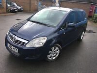 Uber Ready PCO Car/Minicab For Sale,2010 Vauxhall Zafira 1.9 Diesel Automatic 7 Seater Pco Car Sale