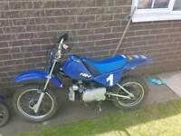 Kids 50cc motorbike
