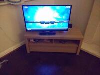 Wooden TV cabinet– oak veneer (Excellent condition) - W90cm*H45cm
