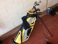 full set of Wilson 1200 golf clubs