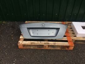 Mercedes C Class W204 Boot Lid A877