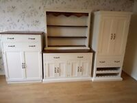 NEW hand made larder - pantry unit, cupboard and dresser/sideboard