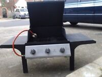 Gas fired three burner BBQ was fitted to my trailer for camping and breakfast in the mornings