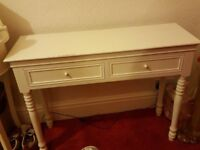 Dressing Table in Cream Shabby Chic
