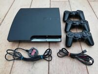 PS3 250GB + 3 Controllers