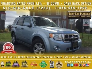 2008 Ford Escape HYBRID-$70/Wk-Heated Leather Seats-RearSensors-