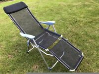 Garden reclining chair