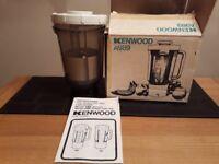 Kenwood Chef Liquidiser and Slicer/Shredder attachments