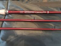 Avanti Hyperspeed Barbel Twin Top Fishing Rod 11ft Brand New in Stunning Red