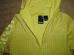 Women's Pale Yellow Bench Hoodie, size S London Ontario image 3