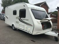 Swift Sprite Musketeer TD 5 Berth Caravan