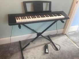 Yamaha Piaggero NP11 Keyboard