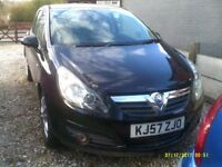VAUXHALL CORSA 1.2 SXI 3 DOOR HATCHBACK AIRCON 69000 MILES FULL SERVICE HISTORY AND OLD MOTS
