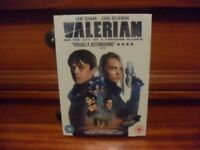 Valerian and the City of a Thousand Planets 2017 DVD