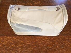 Canvas carrier for cat/small dog or puppy