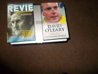 DON REVIE/ DAVID O'LEARY BOOKS