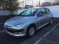 2004 PEUGEOT 206 1.4, NEW MOT JANUARY 2019, ONLY 90k, READY TO DRIVE AWAY