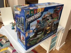 Thunderbird Tracey Island with thunderbirds 1, 2, 3, 4 and more