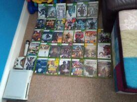 Xbox 360 plus 33 games