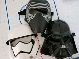 Star Wars play masks