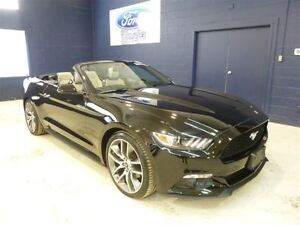 2016 Ford Mustang 4 CYL ECOBOOST, CONVERTIBLE, GPS