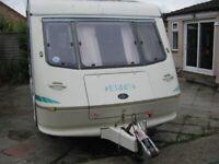 Elddis Ex 3oo 4 / 5 Berth Touring Caravan 1996 MAKE AN OFFER