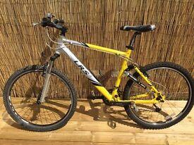 Carrera LRS full suspension mountain bike